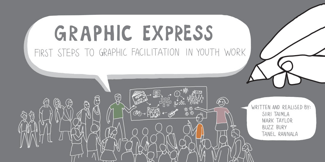 Free Resource — Graphic Express: First Steps to Graphic Facilitation in Youth Work